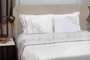 Fan Organic Cotton Bedding - Letters From Bosphorus