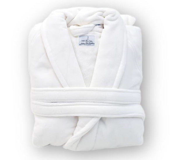 Organic Cotton Bathrobe - Letters From Bosphorus