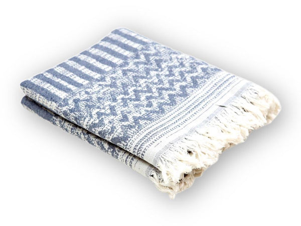 Ata Jacquard Peshtemal Towel - Letters From Bosphorus