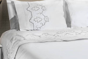 Plum Flower Organic Cotton Bedding - Letters From Bosphorus