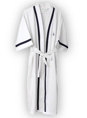 Mini Anchor Waffle Robe for Men - Letters From Bosphorus