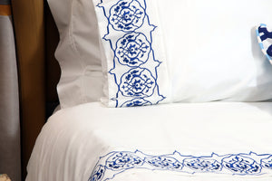 Iznik Organic Cotton Bedding Set - Letters From Bosphorus