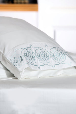 Iznik Soft Organic Cotton Sheet Set - Letters From Bosphorus