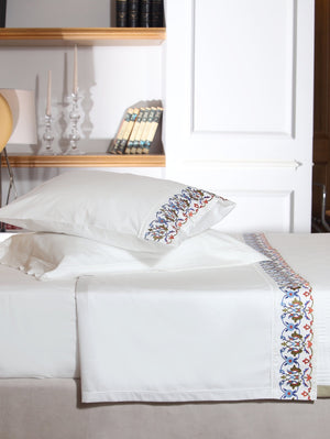 Kutahya Organic Cotton Sheet Set - Letters From Bosphorus