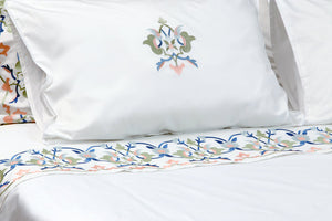 Kutahya Soft Organic Cotton Duvet Cover Set - Letters From Bosphorus