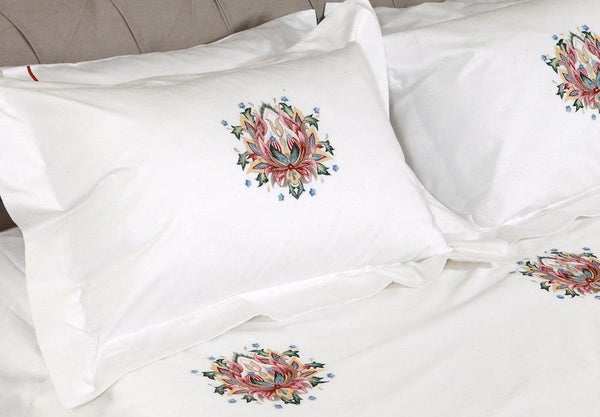 Medallion Organic Cotton Duvet Cover Set - Letters From Bosphorus