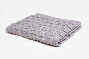 Mimosa Touch Cotton Baby Blanket - Letters From Bosphorus