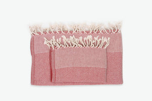 Peshtemal Cotton Towel Set