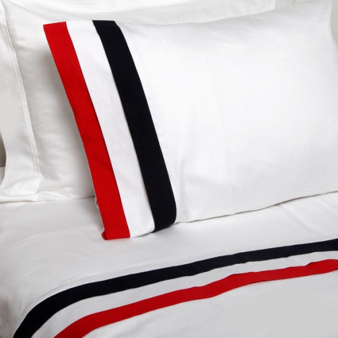 Mania Pleated Duvet Cover Set