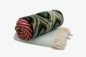 Rain Drops Neckroll Bolster Pillow - Letters From Bosphorus