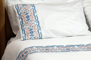 Tulip Soft Organic Cotton Bedding Set - Letters From Bosphorus