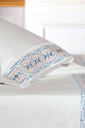 Tulip Soft Organic Cotton Sheet Set - Letters From Bosphorus