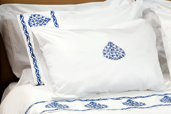 Willow Organic Cotton Duvet Cover Set - Letters From Bosphorus