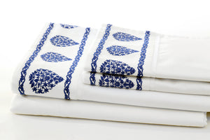 ata willow sheet set folded