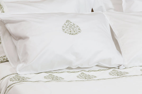 Willow Soft Organic Cotton Duvet Cover Set - Letters From Bosphorus