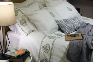 ata willow soft duvet cover set styling