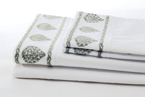 ata willow soft sheet set folded
