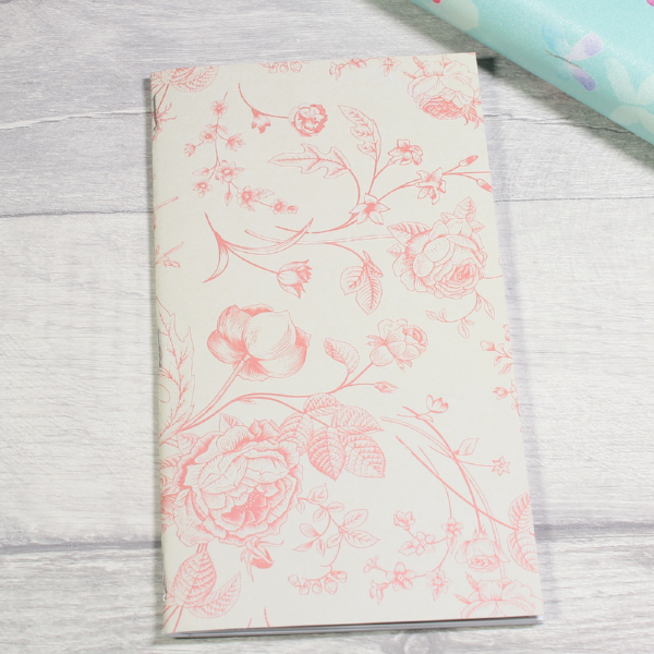 3 card tarot spread notebook tn insert personal size dusty rose by KindaKookie