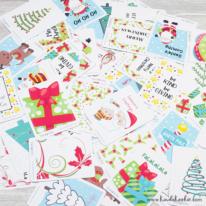Christmas Planner Stickers Santa and Christmas Tree Stickers by KindaKookie