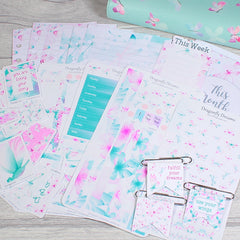 Personal Size Ring Planner Stickers and Inserts Bundle by KindaKookie