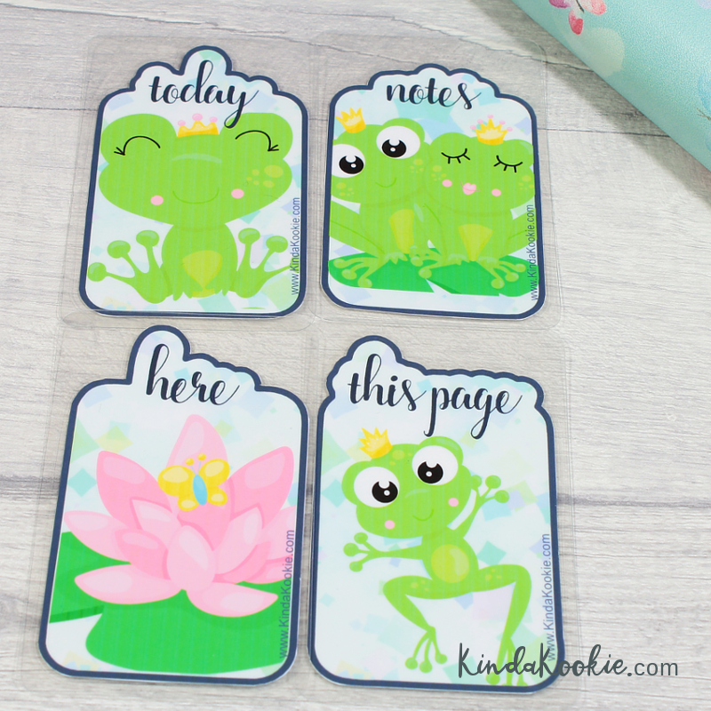 Frog Prince Notebook Journal Diary Planner Bookmark Printable Digital Download