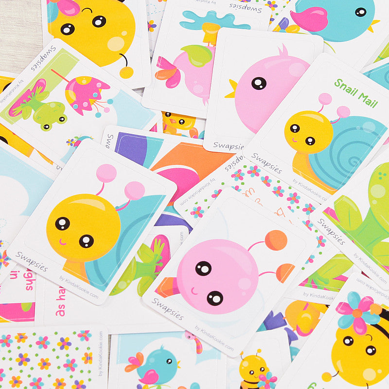 Stationery and Stickers Hello Spring Swapsies by KindaKookie