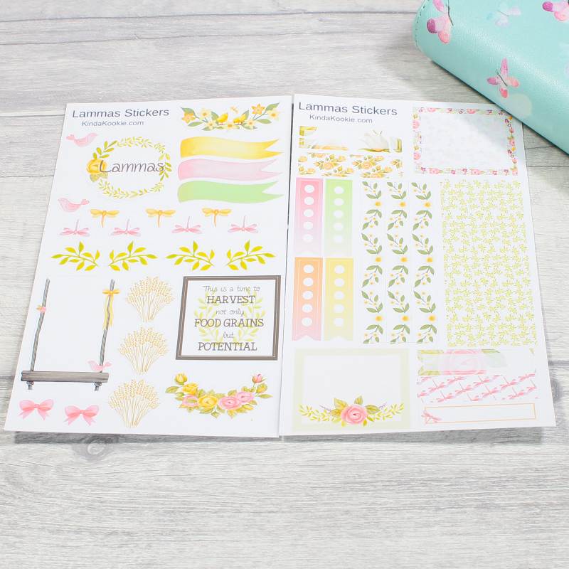 Lammas Pagan Holiday Planner Stickers by KindaKookie