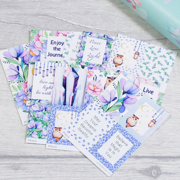 Magical Woodland Minis Stickers for Happy Mail and Happy Planner Monthly Layouts by KindaKookie