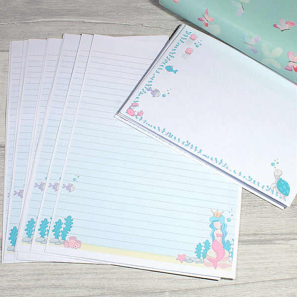 Mermazing Mermaids Stationery A5 Double Sided Writing Paper by KindaKookie