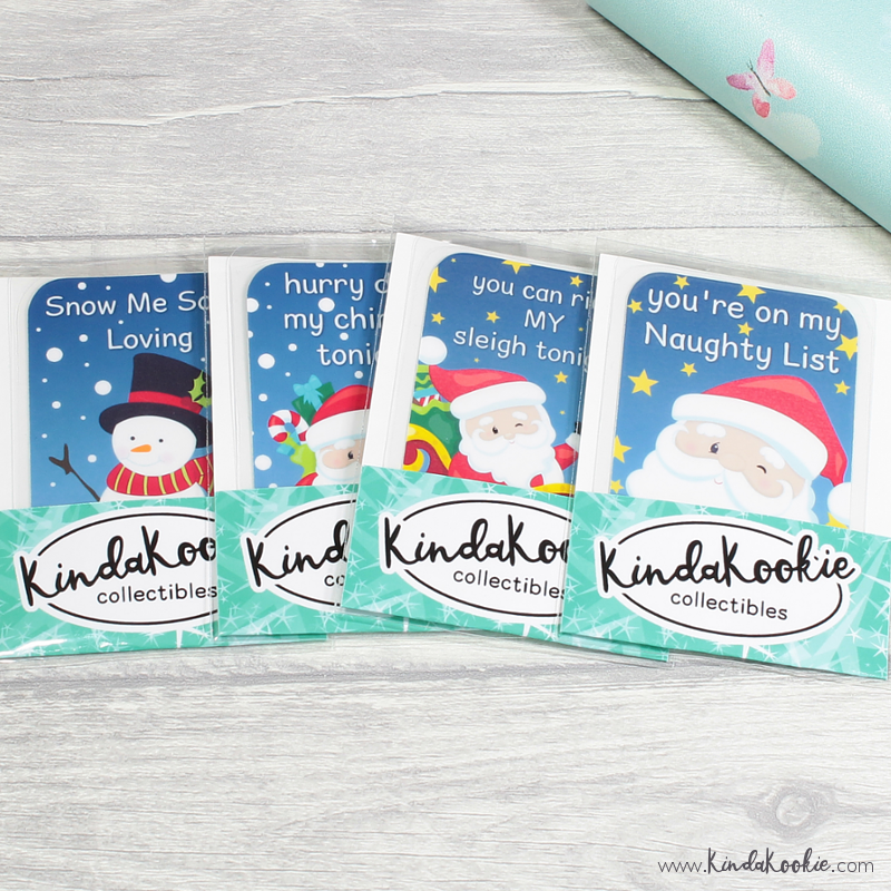 Christmas Stocking Filler Gifts Adult Funny Bookmark Collectibles by KindaKookie