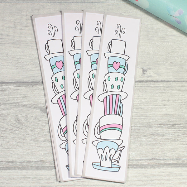 Time For Tea Bookmarks by KindaKookie
