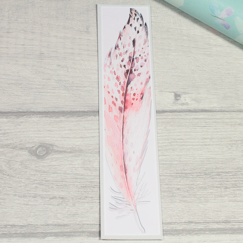Feather Bookmark Winter Owl Collection by KindaKookie