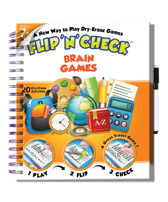 Flip 'N' Check Brain Games
