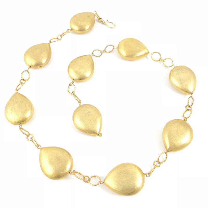 Bold And Gold Versatile Nugget Necklace