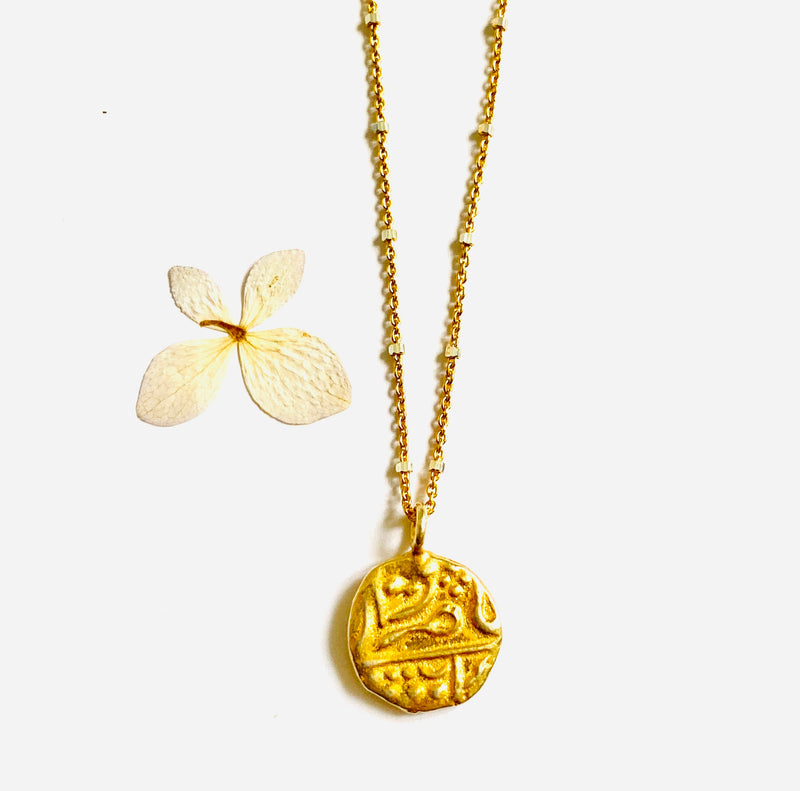 Gold Charm Everyday Necklace