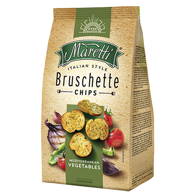 BRUSCHETTA MARETTI - MEDITERRANEAN VEGETABLES