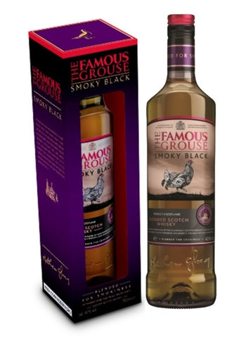 WHISKY ESCOCÊS THE FAMOUS GROUSE - SMOKY BLACK