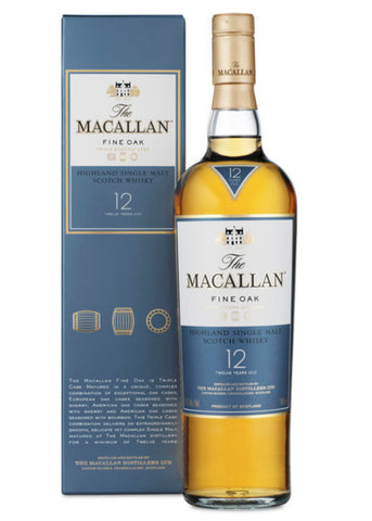 WHISKY ESCOCÊS THE MACALLA FINE OAK 12 ANOS - SINGLE MALT