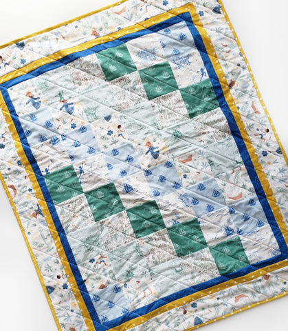 Peter pan quilt stacked fabric company