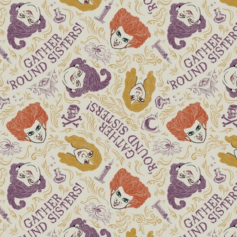 Pre Order - Hocus Pocus - Gather Around Sisters Cream