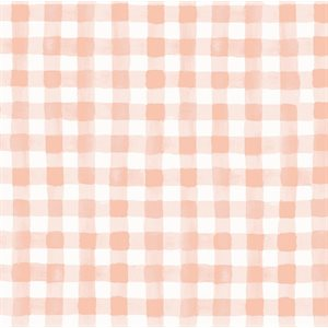 Meadow - Painted Gingham in Blush