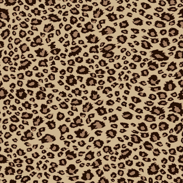 On Safari - Leopard Brown