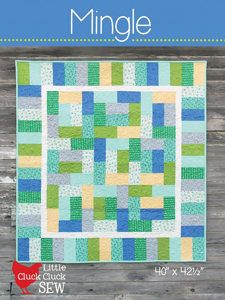 Cluck Cluck Sew - Mingle Baby Quilt Pattern