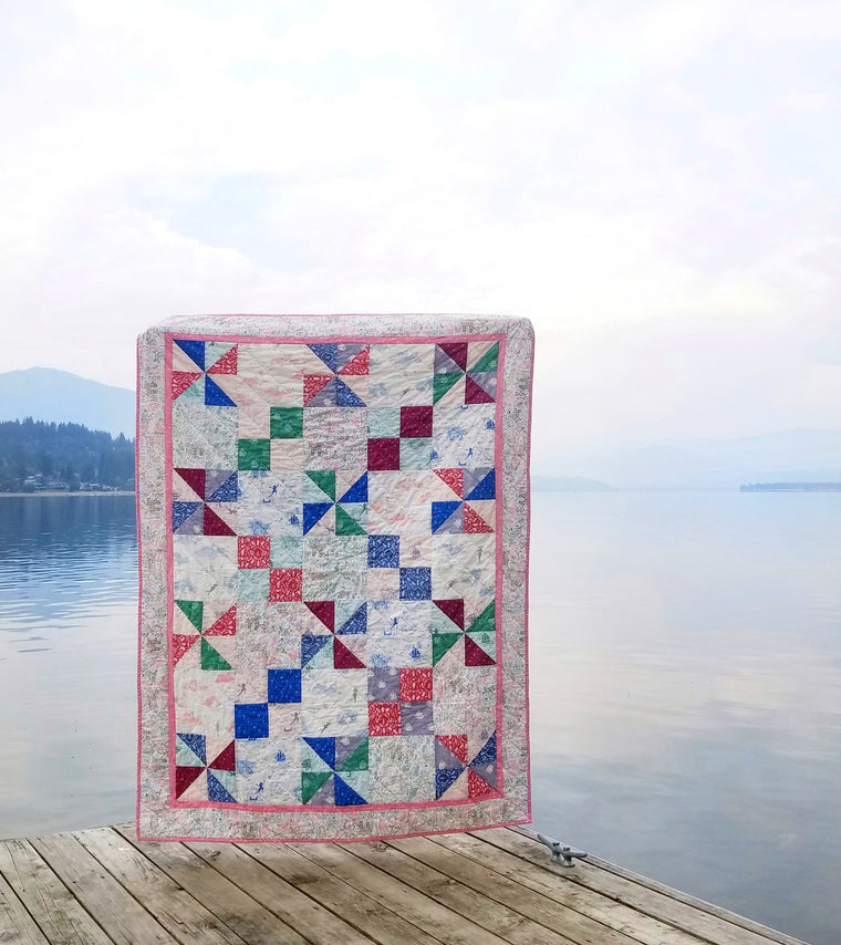 Playroom Quilt Pattern