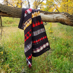Rail Way in Flannels Pattern