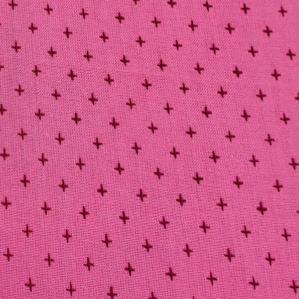 Manchester Embroidered Wovens – Plum Pink