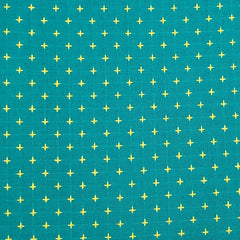 Manchester Embroidered Wovens – Teal Lemon
