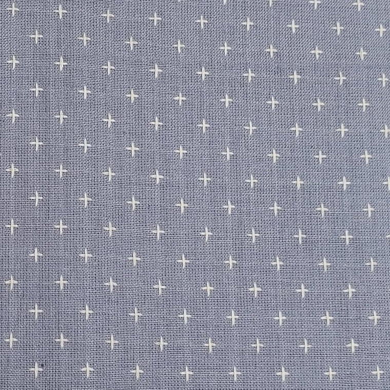 Manchester Embroidered Wovens – Periwinkle