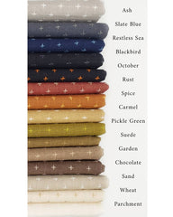 Manchester Embroidered Wovens Earth Tones Half Yard Bundle