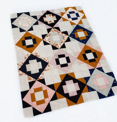 Meadowland Quilt Kit - Desert Rose Colorway